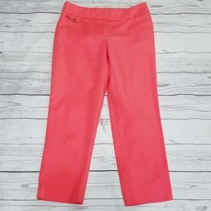 Loft | Coral Skinny Fit Julie Cropped Pants